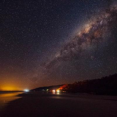 Milky Way Over North Shore