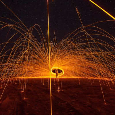 Steel Wool Under The Stars